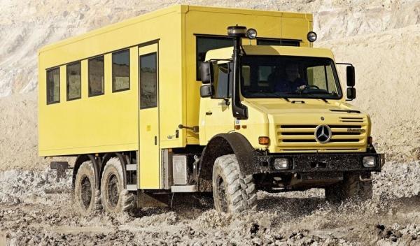 Nuevo Mercedes Unimog U5000