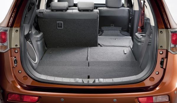 Nuevo Mitsubishi Outlander, maletero