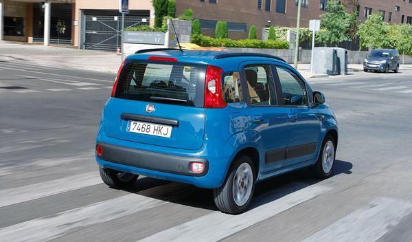 Fiat Panda 0.8 Twin Air, trasera
