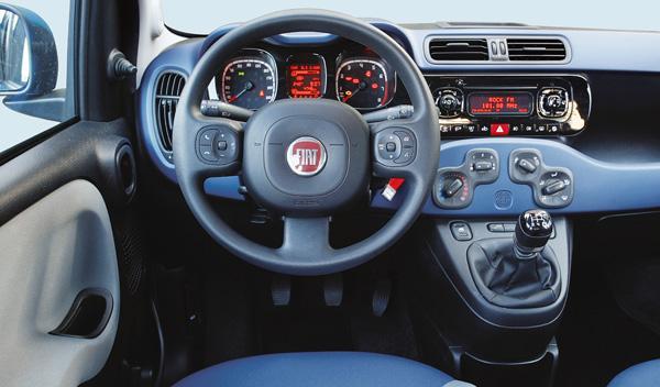 Fiat Panda 0.8 Twin Air, interior