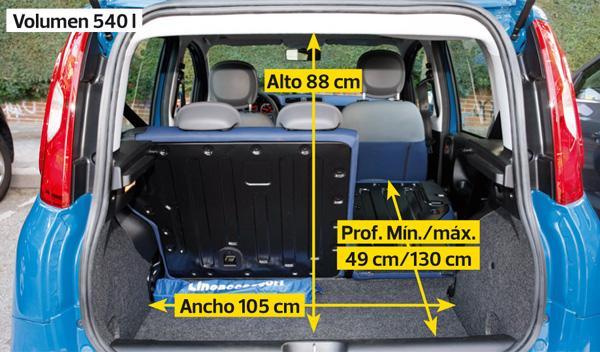 Fiat Panda 0.9 85 Twin Air, maletero