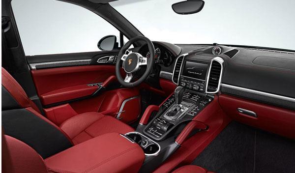 Porsche Cayenne Turno S interior