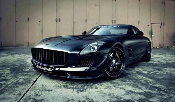 Kicherer SLS Supercharged GT parrilla
