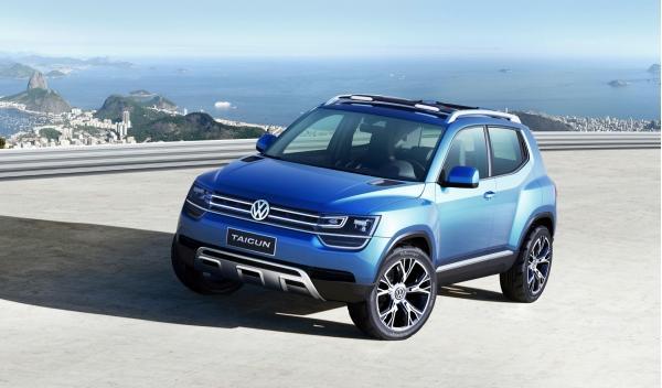 Volkswagen Taigun tres cuartos