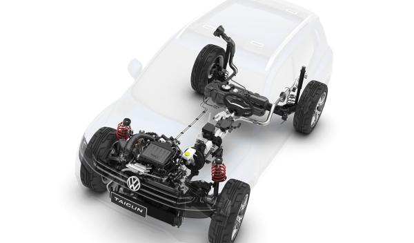 Volkswagen Taigun mecánica