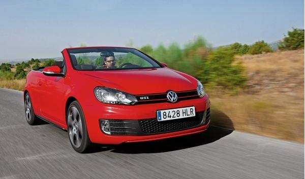 volkswagen golf gti cabrio prueba a fondo. Black Bedroom Furniture Sets. Home Design Ideas