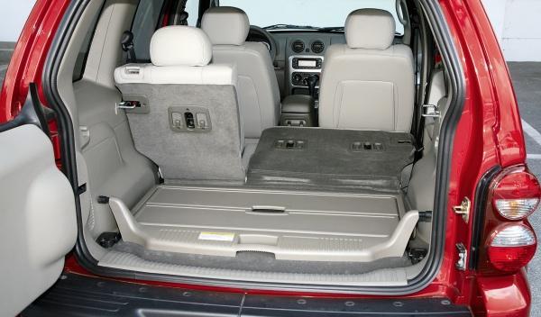 Jeep Cherokee II maletero