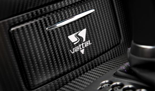 El anagrama de Vettel aparecerá en la consola central y en la parte trasera del