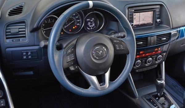 Mazda CX-5 180 interior