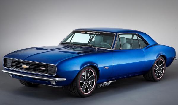 Chevrolet también ha construido un Chevrolet del 67, una de las primeras maqueta
