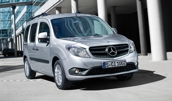 Mercedes Citan en movimiento