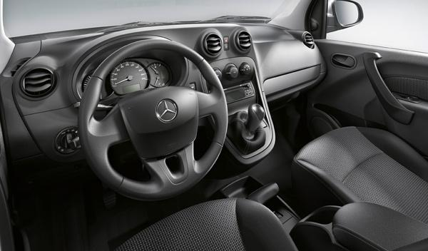 Mercedes Citan consola