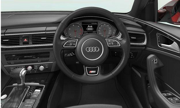 Audi A6 Black Edition interior