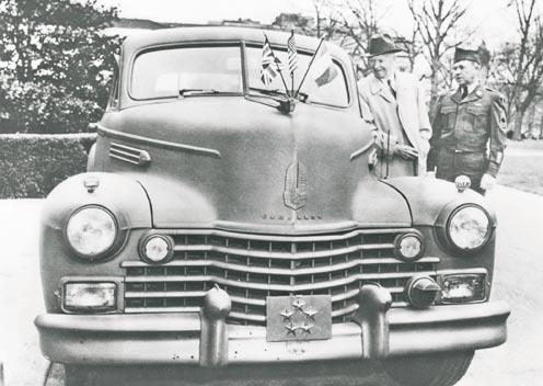 Eisenhower Cadillac Sedan