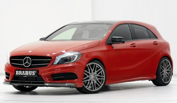 Mercedes Clase A Brabus frontal