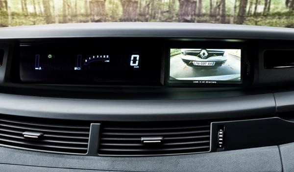 Renault Espace 2013 cámara trasera