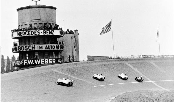 GP de Berlín en el AVUS 1954