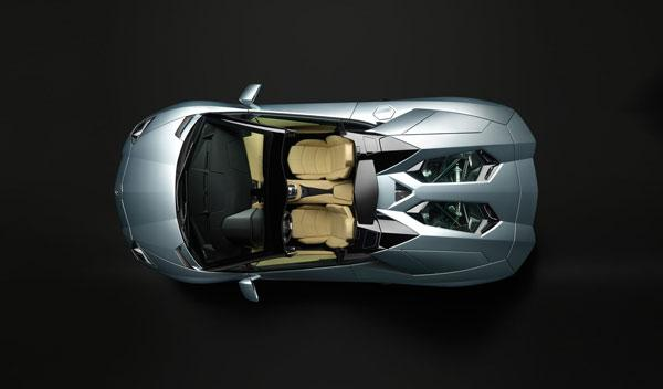 Lamborghini Aventador LP 700-4 Roadster vista superior