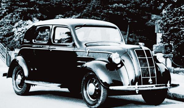 1936 Toyota AA Sedan