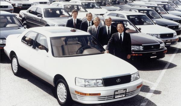 1987 Toyota Lexus LS 400