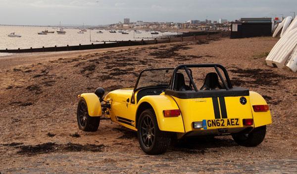 Caterham Supersport R trasera estática
