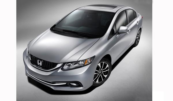 Honda Civic Sedan 2013 frontal