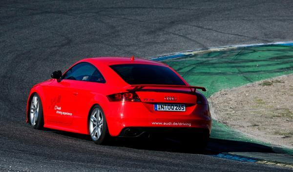 Prueba Audi TT RS Plus zaga