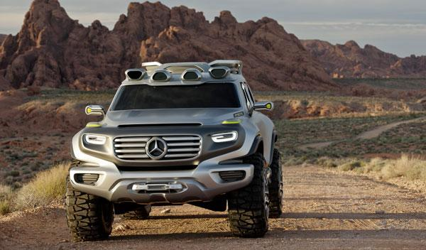 Mercedes Ener-G-Force frontal estática