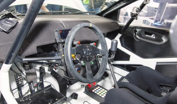 Interior Volkswagen Polo R WRC