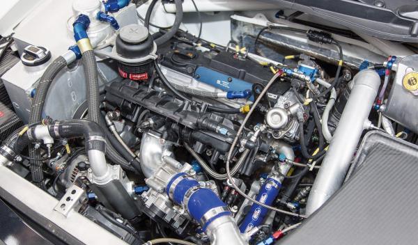 motor Volkswagen Polo R WRC