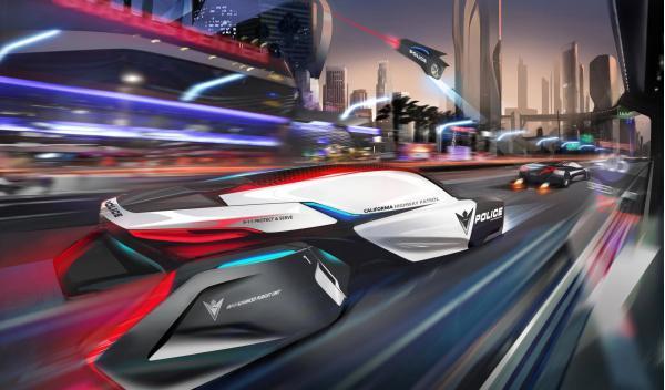 BMW ePatrol persecución