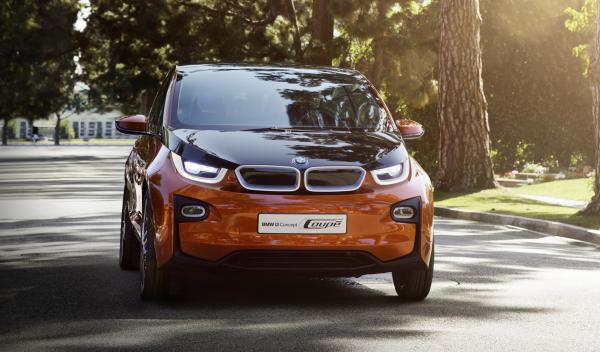 BMW i3 Concept Coupe frontal