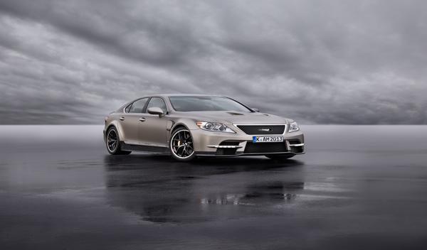 Lexus LS TMG Sports 650 Concept tres cuartos