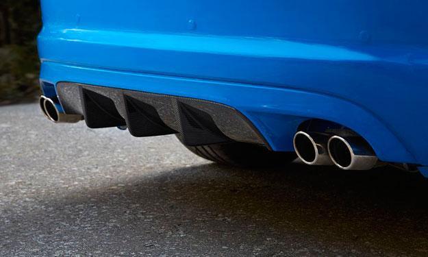Jaguar XFR-S deflector