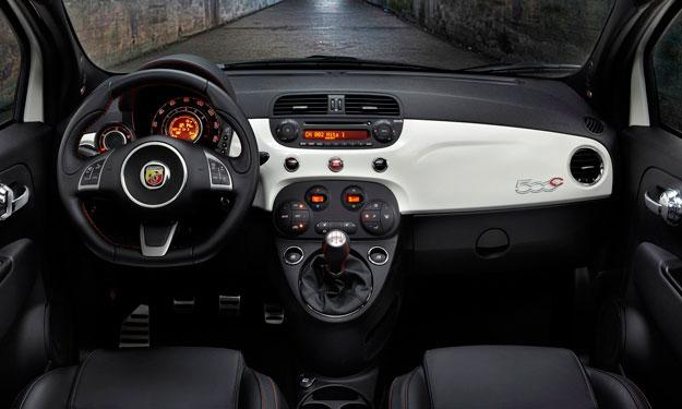 Fiat 500C Abarth interior