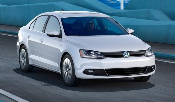 Volkswagen Jetta Hybrid frontal