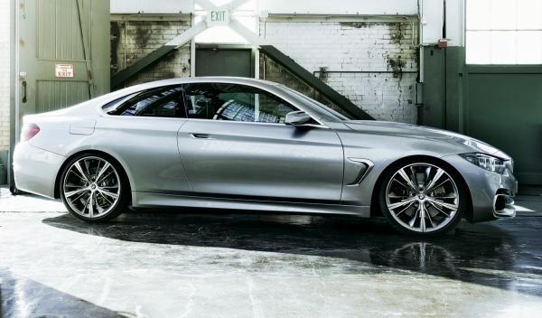 BMW Serie 4 Coupé, perfil