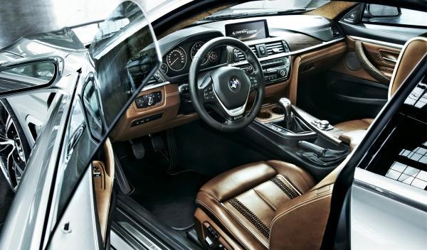 BMW Serie 4 Coupé, interior