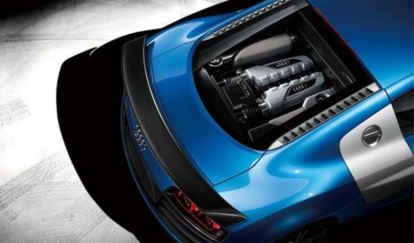 Audi R8 China Edition motor