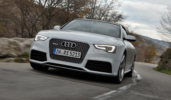 Audi RS5 Cabrio frontal