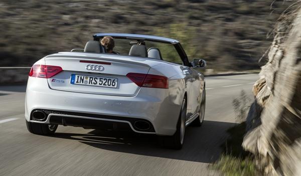Audi RS5 Cabrio trasera