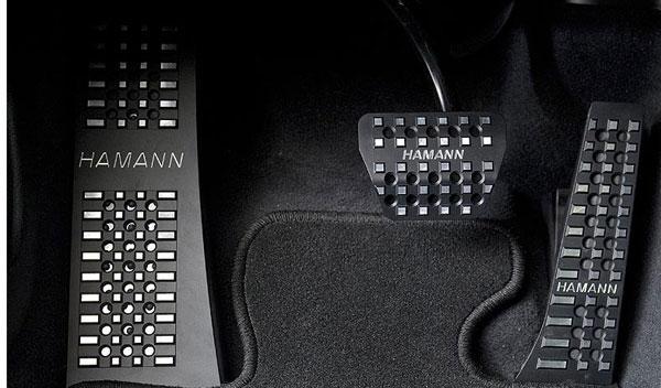BMW Serie 6 Gran Coupé Hamman pedales aluminio