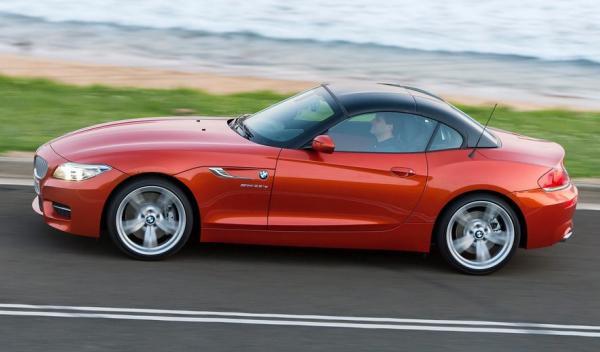 BMW Z4 2013 lado