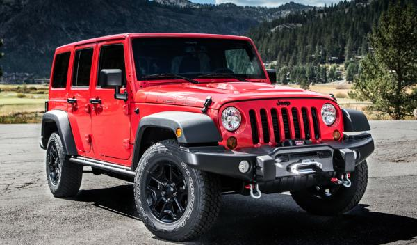 Jeep Wrangler Moab frontal
