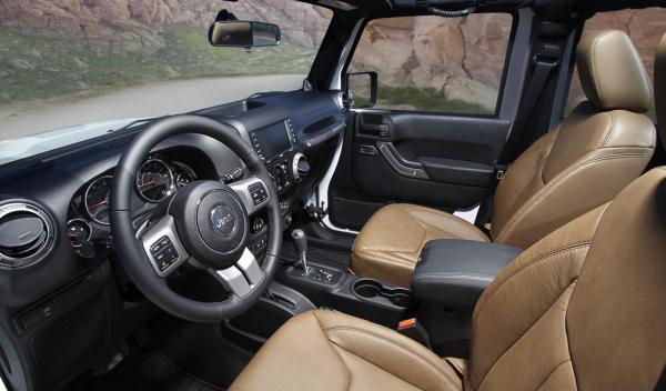 Jeep Wrangler Moab interior