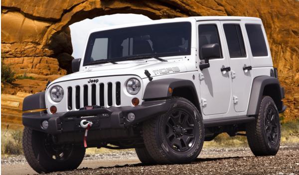 Jeep Wrangler Moab blanco