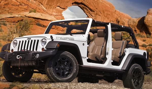 Jeep Wrangler Moab sin puertas