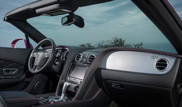 Bentley Continental GT Speed Convertible interior