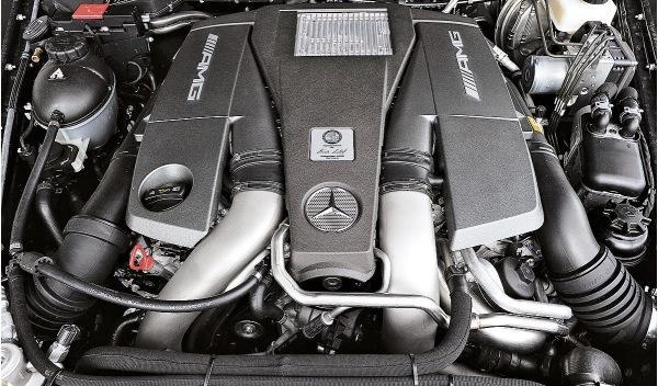 Mercedes G 63 AMG, motor