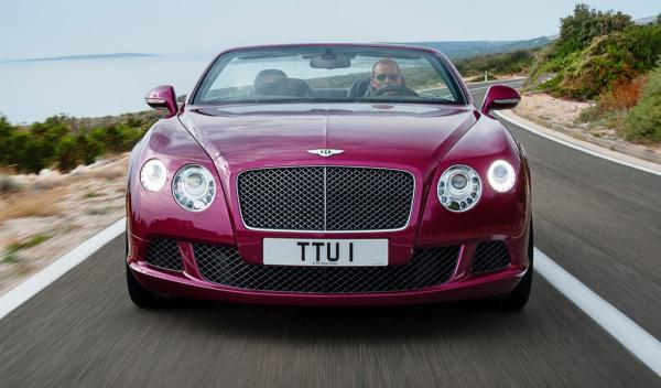 Bentley Continental GT Speed Convertible frontal